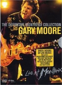 Cover Gary Moore - The Definitive Montreux Collection [DVD]
